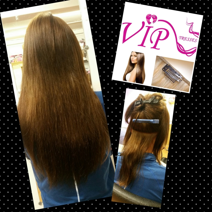 Clip In Hair Extensions Tutorial